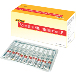 Adrenaline Bitartrate Injection